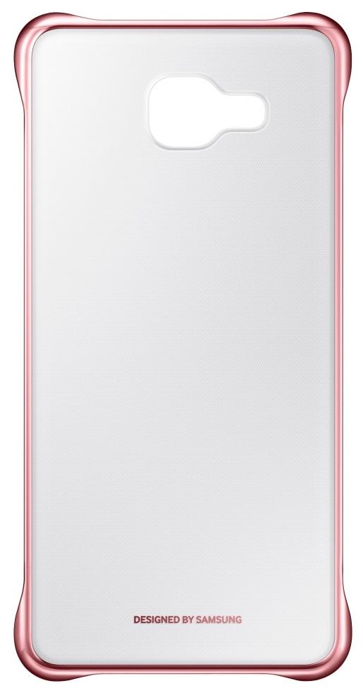 Чехол Samsung Clear Cover для Galaxy A5 2016 Pink