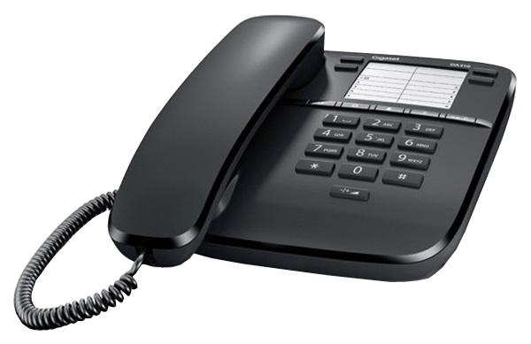 Проводной телефон Gigaset DA310 черный