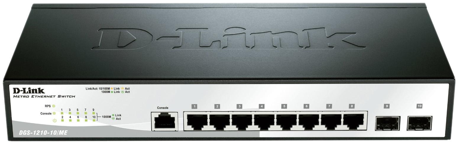 Коммутатор D Link Metro Ethernet DGS 1210