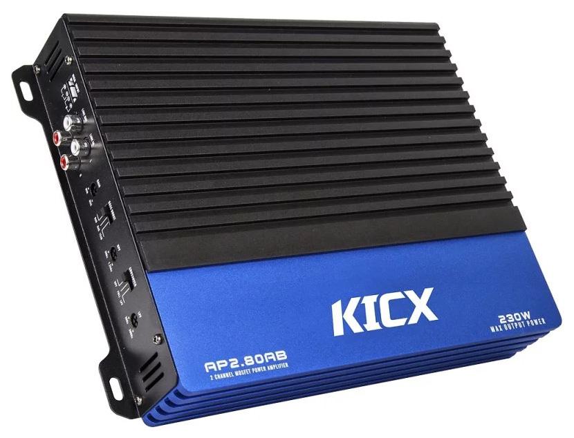 Усилитель 2 канальный KICX AP