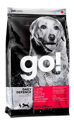 GO  DAILY DEFENCE LAMB DOG RECIPE