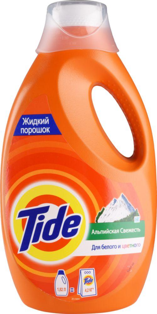 Гель для стирки Tide альпийская свежесть 1.82 л