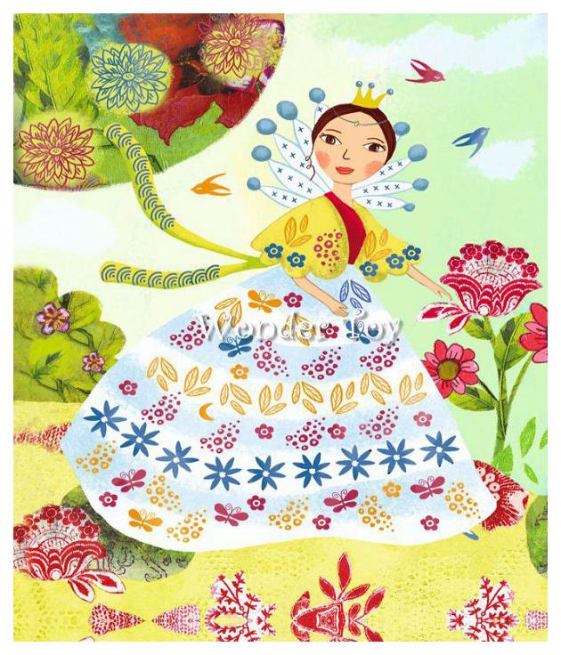 Купить Набор для рисования DJECO Девушки с цветами 8783, Наборы для рисования
