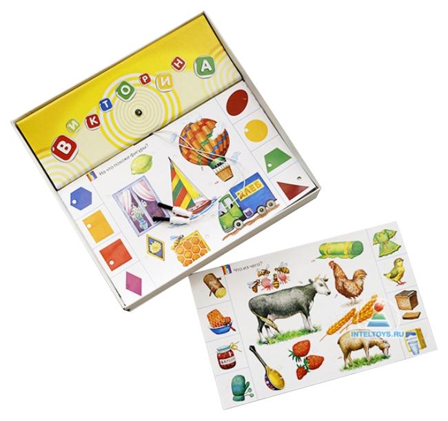 Семейная настольная игра Дрофа-Медиа Готовимся к школе Электровикторина