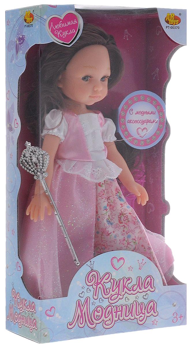 Кукла ABtoys Модница с аксессуарами, 2 вида в ассортименте 13,5х26,5х6 см