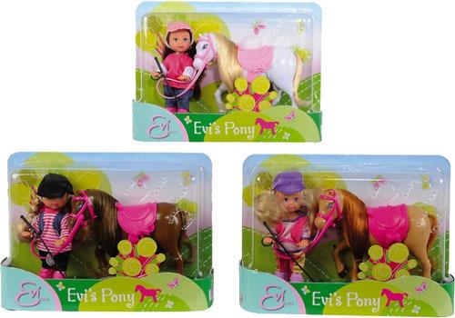 Кукла SIMBA Еви с пони, в ассортименте