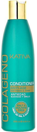 Кондиционер для волос Kativa Colageno 250 мл фото