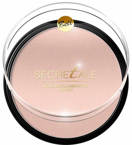 Пудра для лица и тела BELL Secretale Nude Skin Illuminating Powder, тон №01
