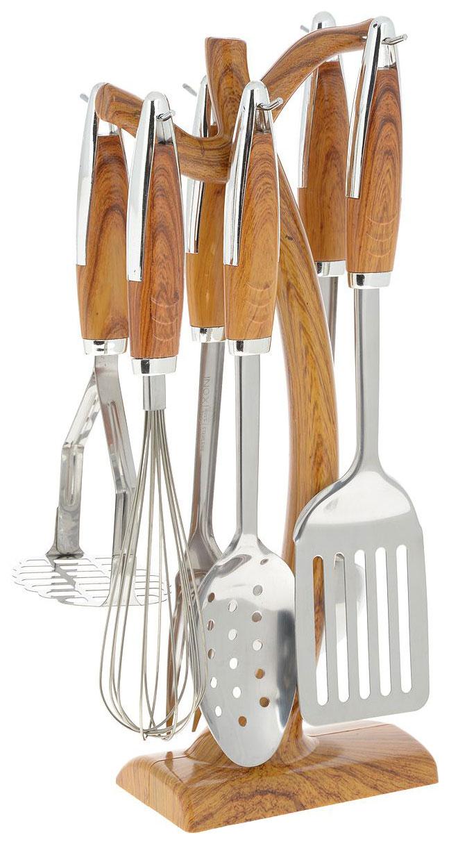 Набор кухонных принадлежностей Mayer&Boch 7614 Серебристый, коричневый