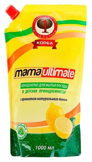 Средство для мытья посуды Mama ultimate лимон 1 л фото