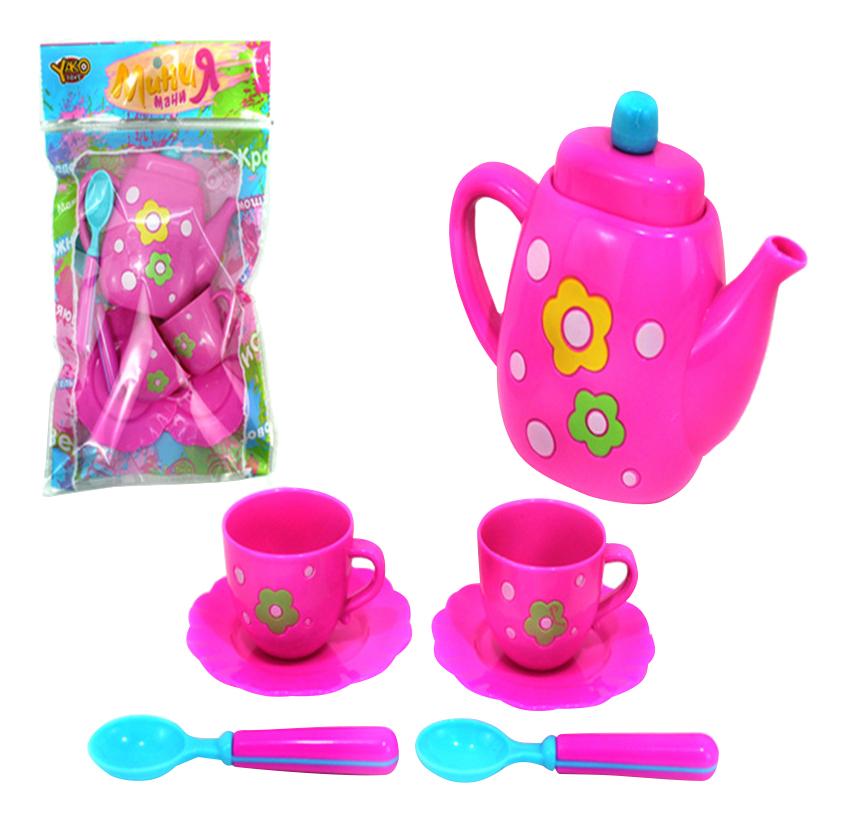 Набор посуды игрушечный Yako Toys Чайный сервиз фото
