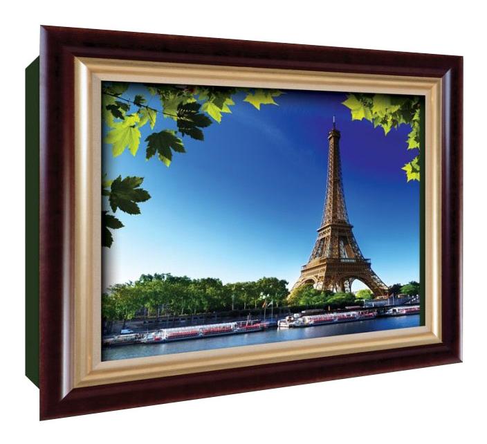 Аппликация из картона Vizzle Окно в Париж