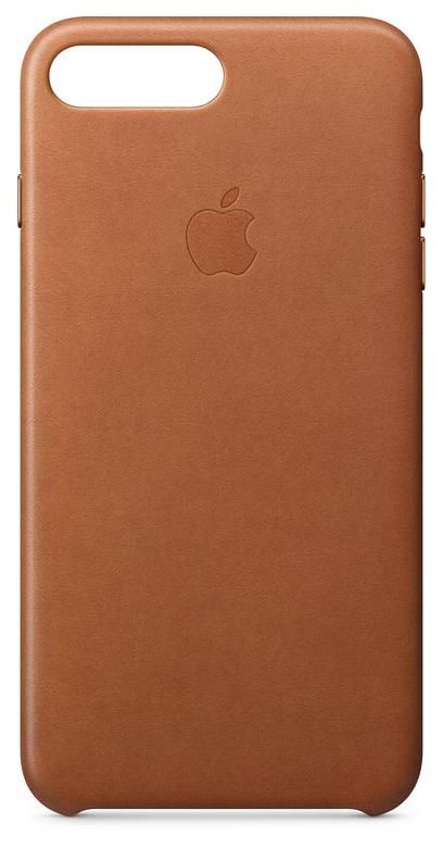Кейс для Apple iPhone iPhone 8 Plus/7 Plus Leather Case Saddle Brown