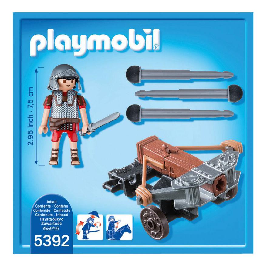 Купить Римляне и Египтяне: Легионер с Баллистой, Игровой набор Playmobil PLAYMOBIL Римляне и Египтяне: Легионер с Баллистой, Игровые наборы