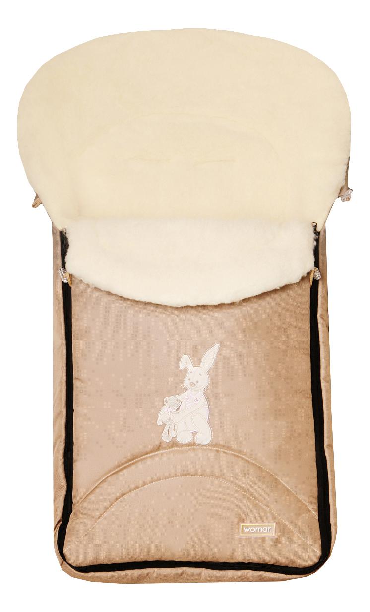 Купить Конверт-мешок для детской коляски WOMAR Excluzive бежевый,