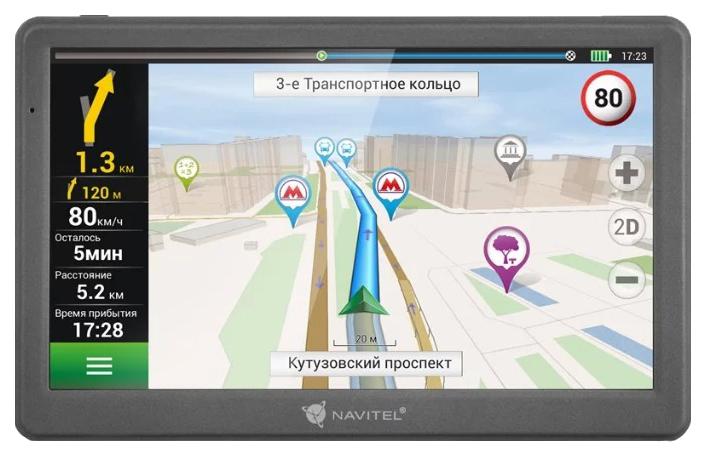 """Автомобильный навигатор Navitel 7"""" 8 Гб Навител E700"""