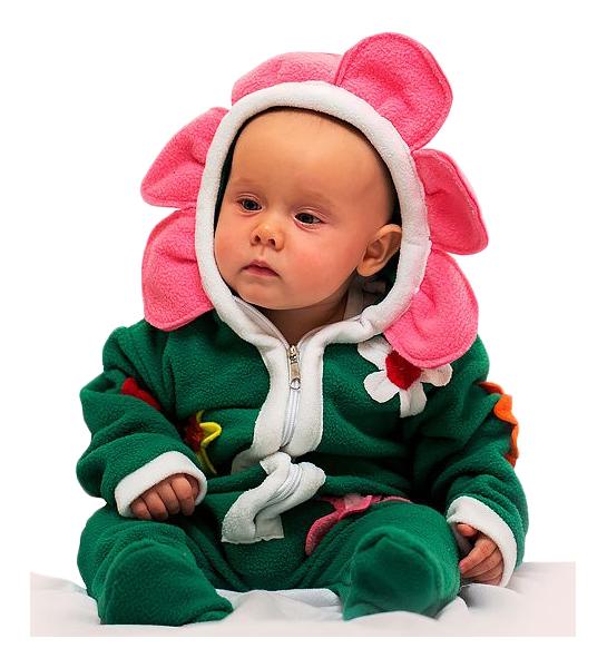 Карнавальный костюм Бока Цветок, цв. зеленый р.74