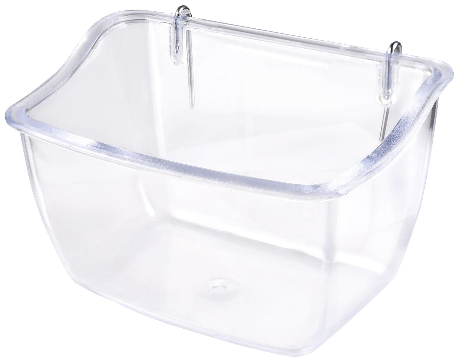 Кормушка для птиц IMAC, пластик, прозрачный 11х7,5х7