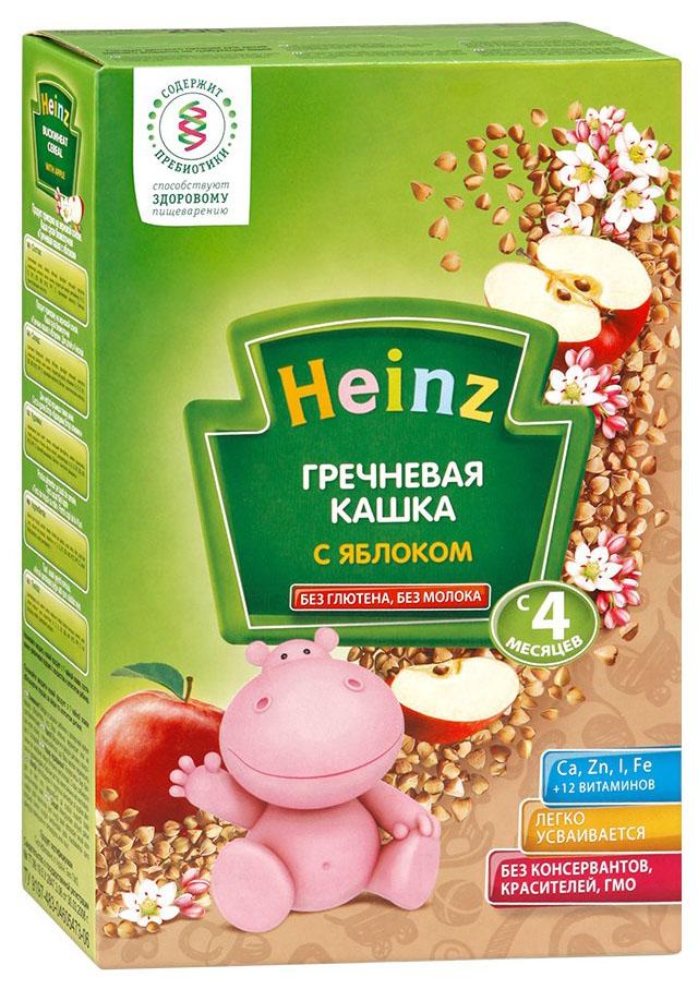 Безмолочная каша Heinz Гречневая с яблоком c 4 мес 200 г