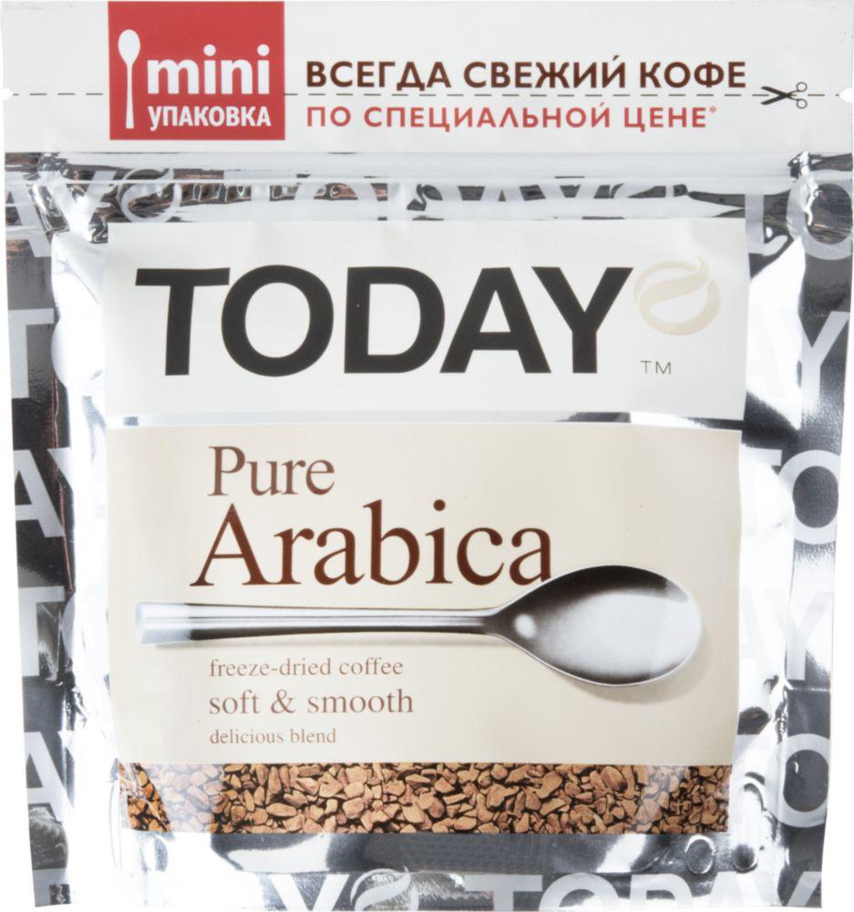 Кофе растворимый Today pure arabica 37.5 г