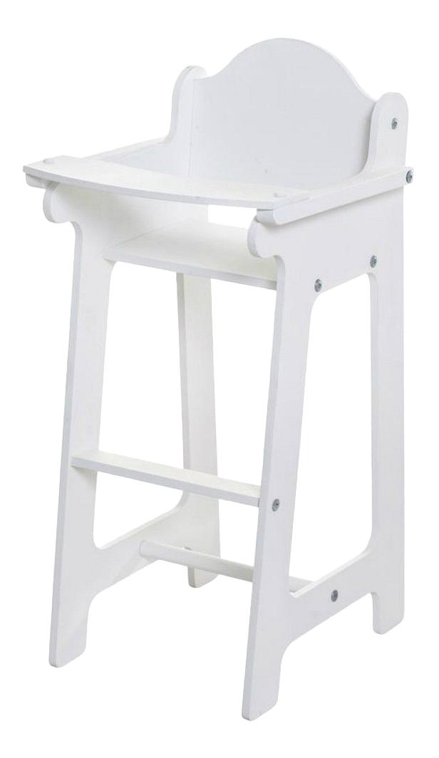 Кукольный стул для кормления Paremo белый PFD116-10
