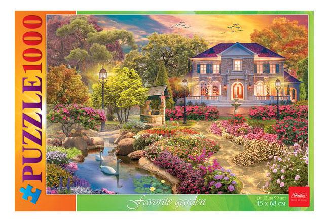 Пазл Hatber STANDART Любимый сад 1000ПЗ2_17104, Пазлы  - купить со скидкой