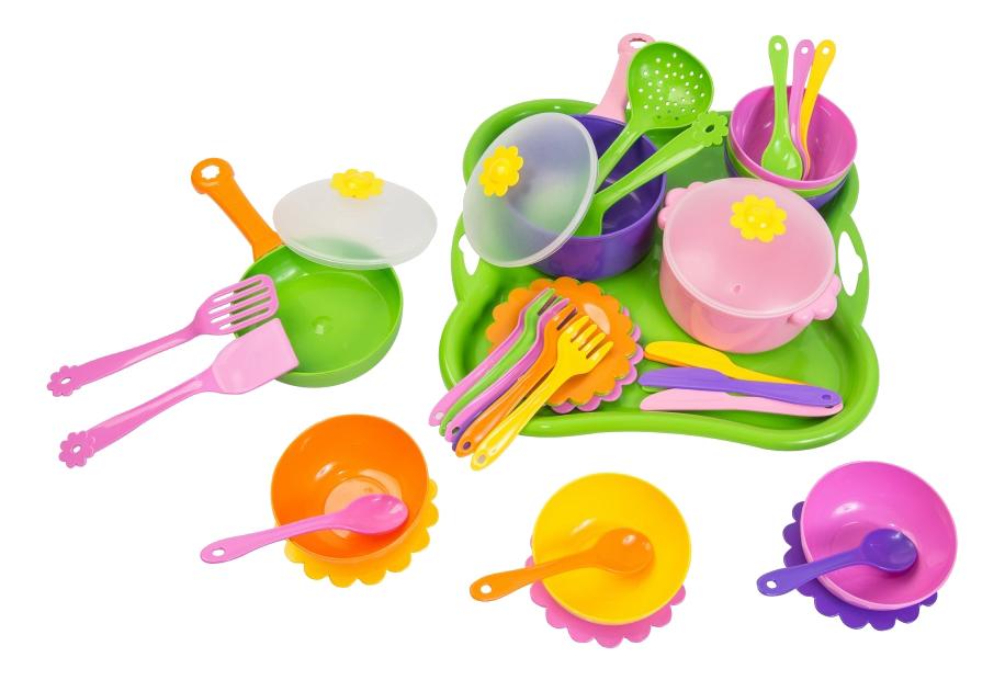 Набор посуды игрушечный Тигрес Ромашка