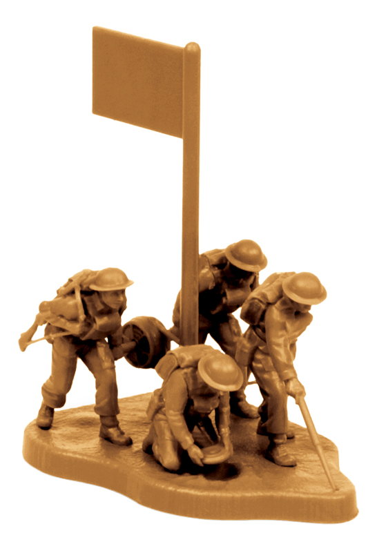 Купить Модели для сборки Zvezda Британские саперы 1939-1942