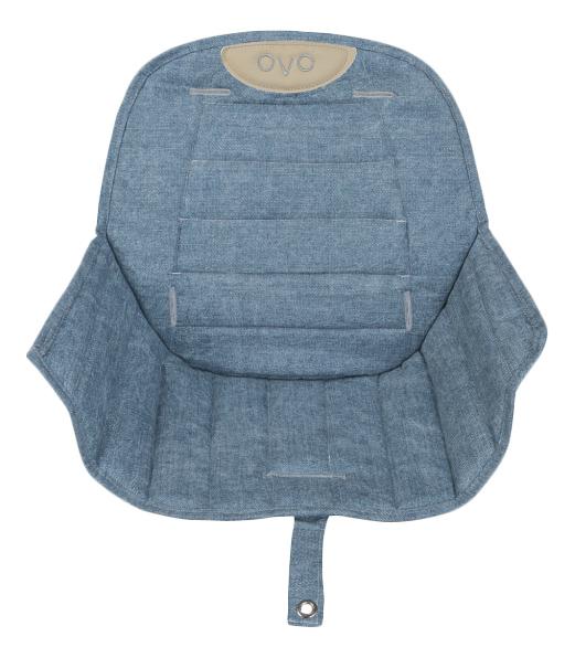 Купить Вкладыш для стульчика micuna OVO Luxe Jeans, Чехол на стульчик для кормления