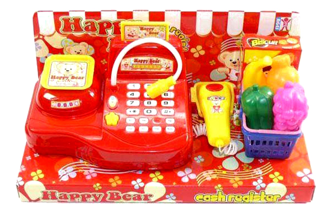 Касса игрушечная Shantou Gepai с микрофоном, аксессуарами