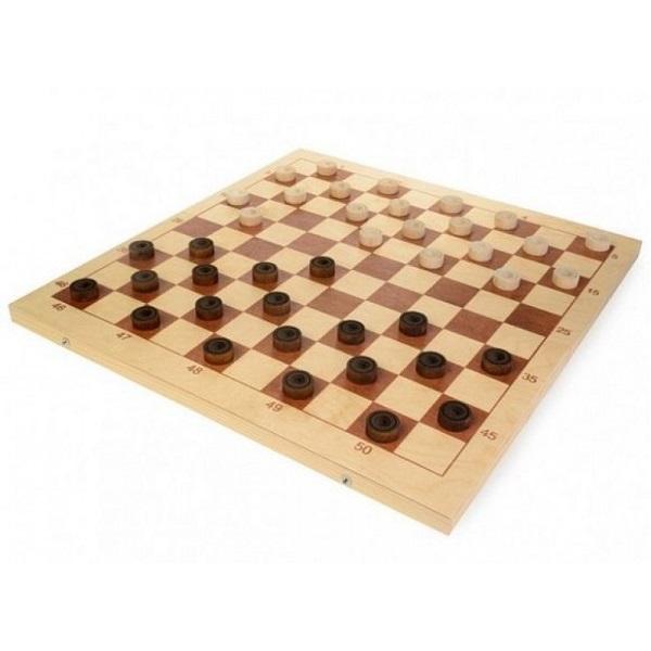 Шахматы настольная игра шашки Шахматы Шашки деревянные со 100-клеточной доской D-4 фото