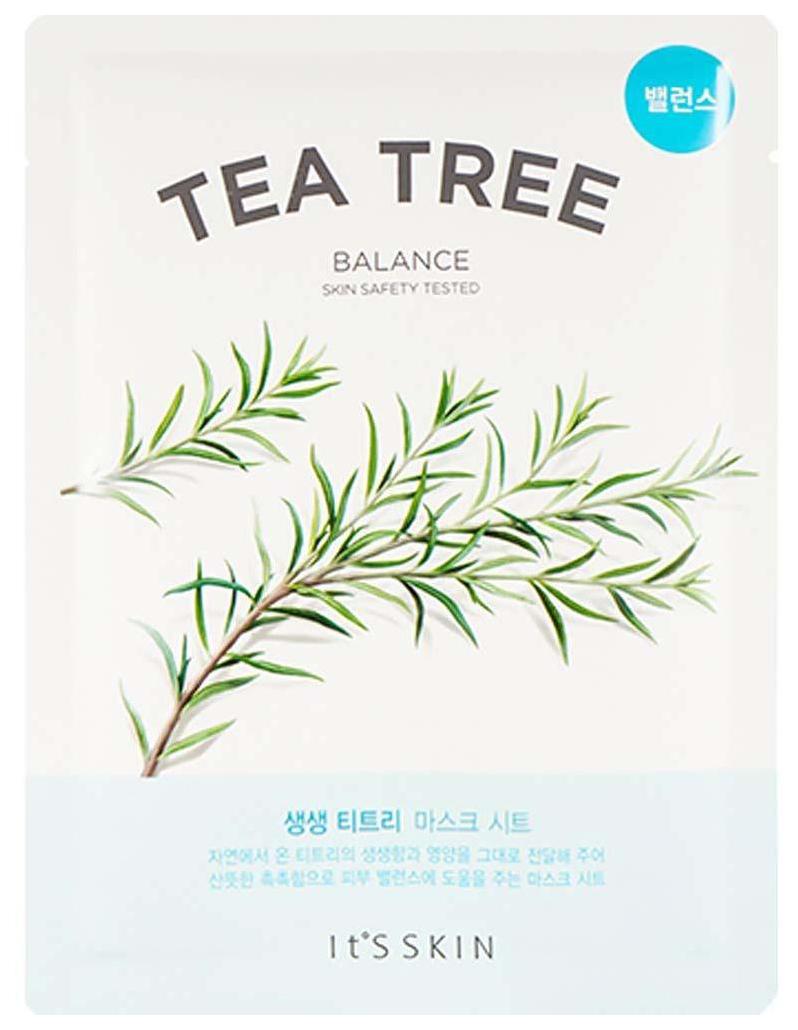 Маска для лица It's Skin The Fresh Tea Tree Mask Sheet 18 г  - Купить
