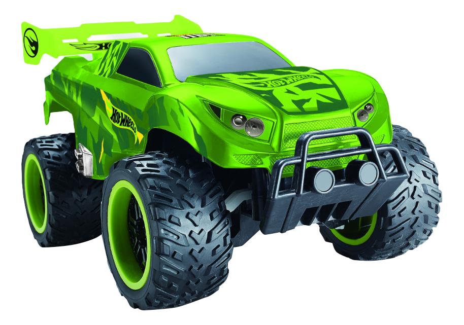 Купить Радиоуправляемая машинка 1TOY Hot Wheels багги Бигвил зелёная, 1 TOY, Радиоуправляемые машинки