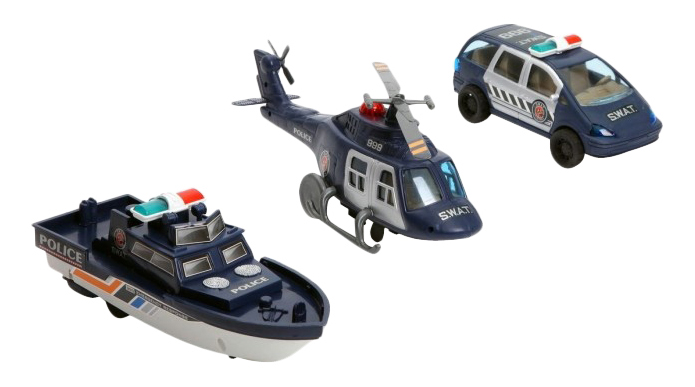 Купить Набор полицейского транспорта swat special В50087, Набор полицейского транспорта Swat Sspecial Shenzhen Toys В50087, Наборы игрушечного транспорта