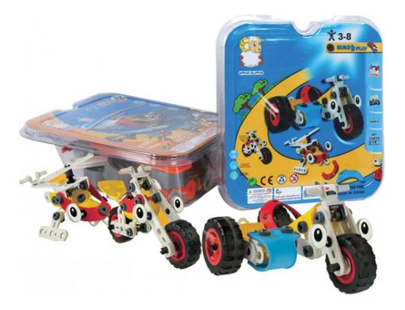Купить Конструктор build and play с инструментом Г51147, Конструктор Build And Play с инструментом Shenzhen Toys Г51147,