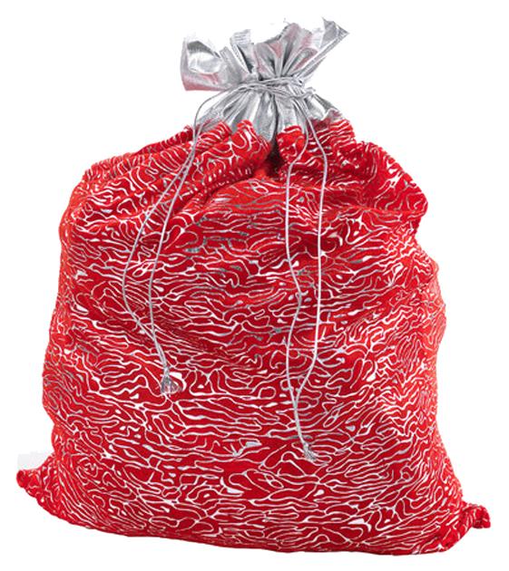 Аксессуар для Нового года Snowmen Новогодний мешок дедушки мороза Е0414 фото