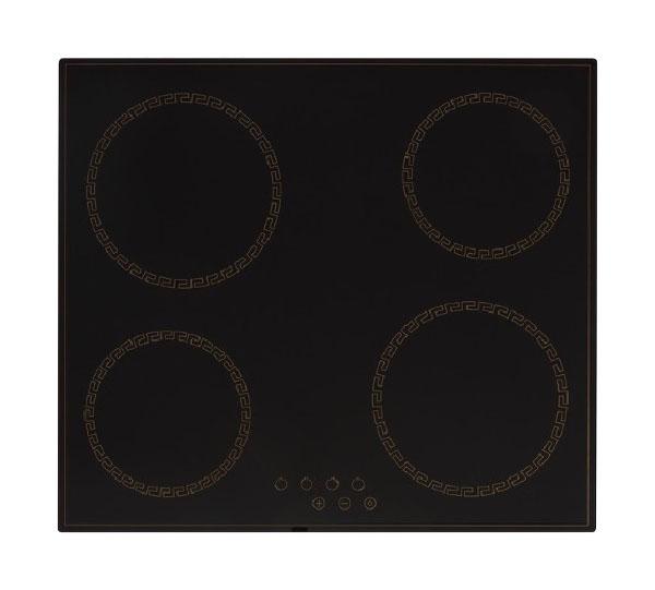 Встраиваемая варочная панель электрическая Simfer H60D14O011 Black