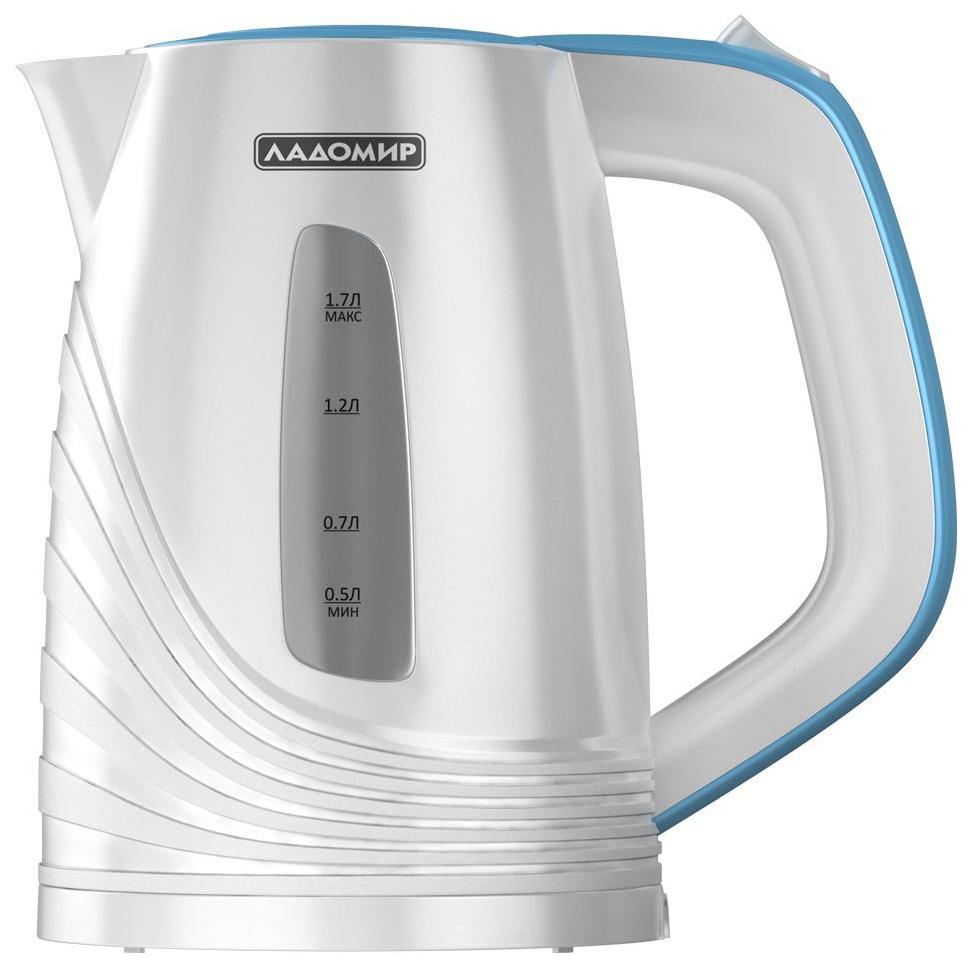 Чайник электрический Ладомир АА424 Blue/White