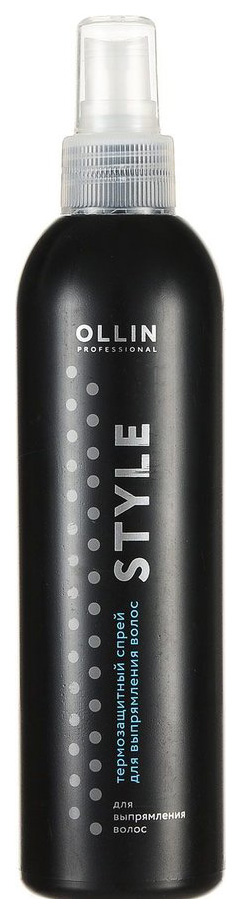 OLLIN STYLE THERMO PROTECTIVE HAIR STRAIGHTENING SPRAY