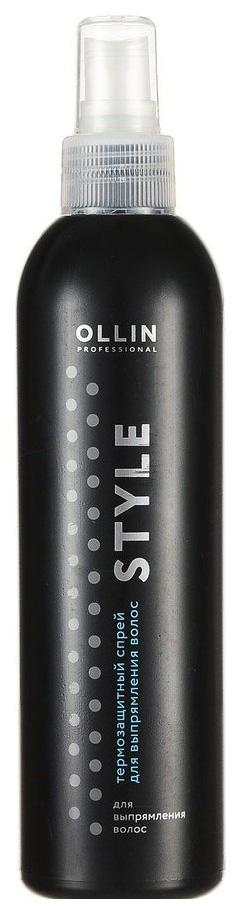 Спрей для волос Ollin Professional Style Thermo Protective Hair Straightening Spray 250 мл фото