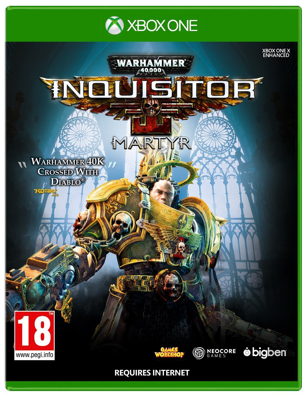 Игра Warhammer 40 000: Inquisitor - Martyr. Deluxe Edition для Xbox One фото