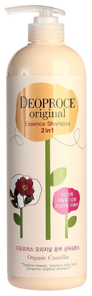 Купить Шампунь Deoproce Original Essence 2 in 1 Camellia 1 л, Original Essence 2 in 1 Shampoo Camellia