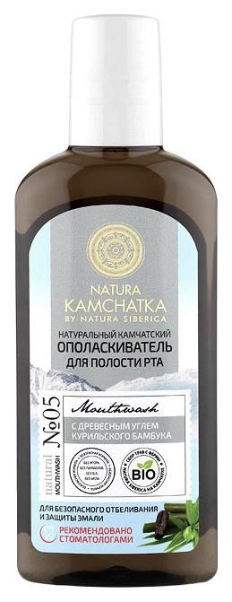 Ополаскиватель для рта Natura Kamchatka Для безопасного