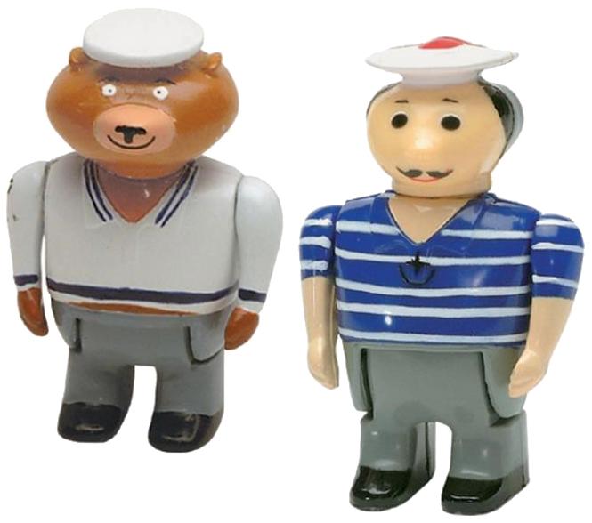 Купить AQUAPLAY Игровой набор игрушки для воды Акваплей Моряк и медведь 236, Игрушки для купания малыша