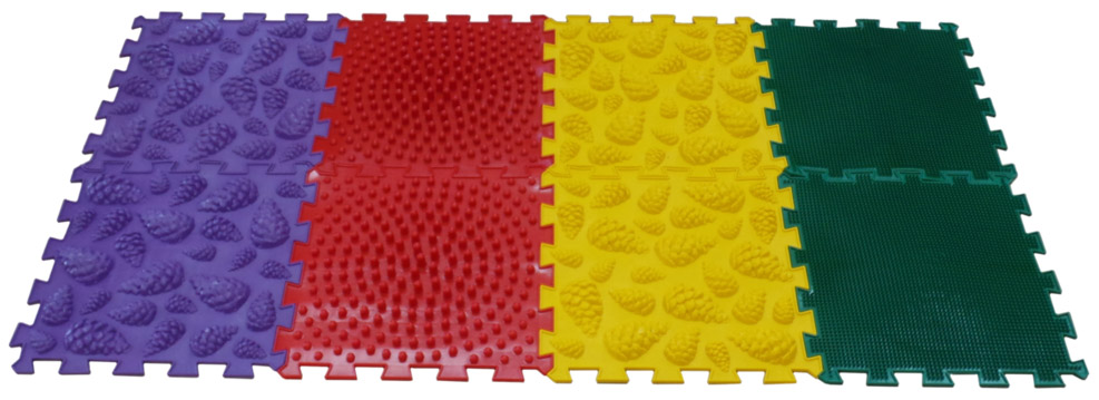 Развивающий коврик Ортоковрик-пазл Микс Лес, Развивающие коврики и центры  - купить со скидкой
