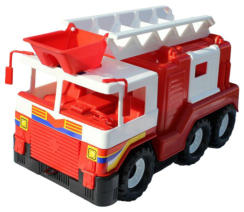 Машина спецслужбы Совтехстром Пожарная машина красный