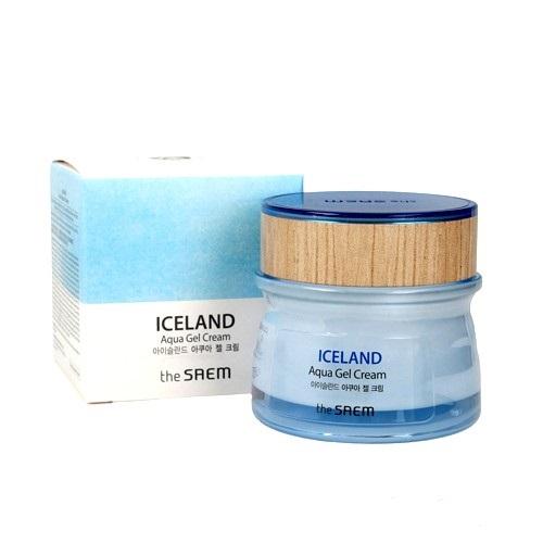 Крем гель для лица увлажняющий Iceland Aqua