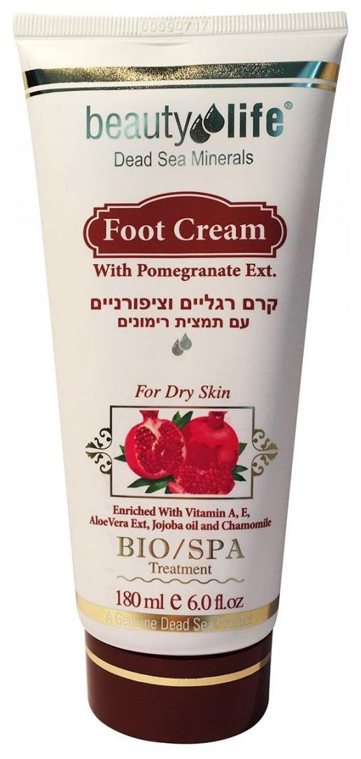 Крем для ног Beauty Life С экстрактом