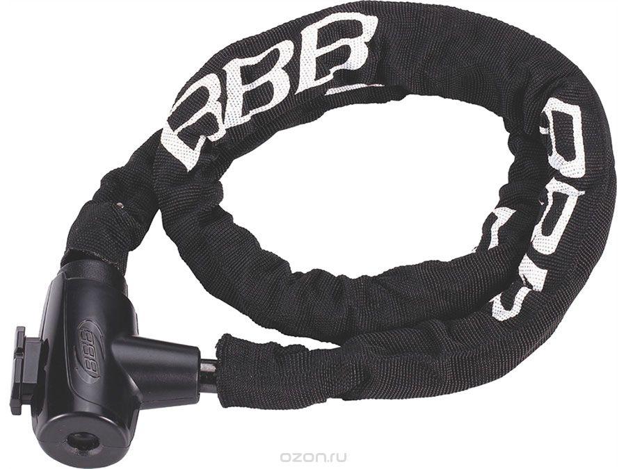 Замок велосипедный BBB PowerLink 5mm x 1000mm chain cable  lock (BBL-481