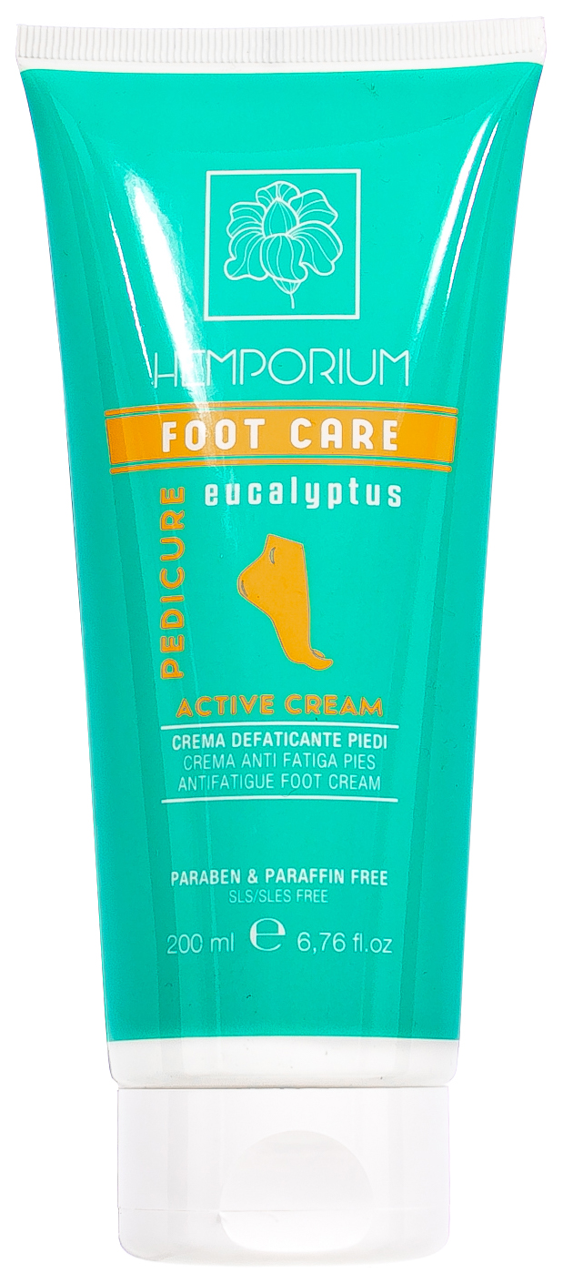 Крем для ног Kaypro Hemporium Foot Care Active Cream 200 мл  фото
